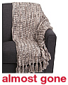 Leanna Chunky Knit Throw