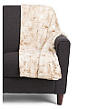 Armor Faux Fur Throw