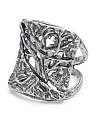 Made In Israel Sterling Silver Tree Of Life Ring