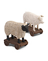 Set Of 2 Farm Animals