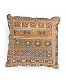 Made In India 22x22 Vintage Look Pillow