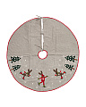 Made In India Wool Blend Tree Skirt