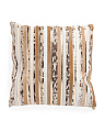 22x22 Metallic Trim Pillow
