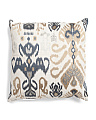 22x22 Embroidered Suzani Pillow