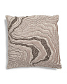 22x22 Velvet Contemporary Pillow