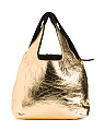Made In Italy Leather Foiled Hobo