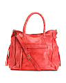 Phoebe Leather Tote