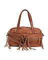Vera Leather Satchel