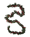 20ft Berry And Pinecone Garland