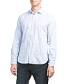 Long Sleeve Micro Stripe Shirt