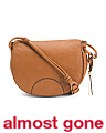 Luela Flap Leather Shoulder Bag