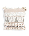 Made In India 20x20 Trees Pillow