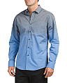 Long Sleeve Spread Collar Shirt