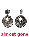 Made In India Beaded Round Statement Earrings
