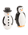 2pc Holiday Salt And Pepper Shaker Set