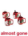 4pk Artic Holiday Mugs