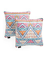 20x20 2pk Contemporary Printed Pillows