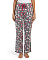 Christmas Dog Printed Sleep Pants