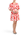 Poppies Cape Dress