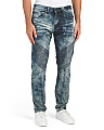 Moto Jeans With Seam Down Leg