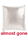 24x24 Oversized Soft Metallic Pillow