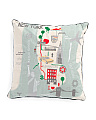 20x20 New York Map View Pillow