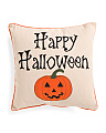 18x18 Happy Halloween Pillow