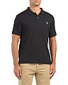 Short Sleeve Solid Classic Polo