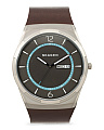 Men's Melbye Titanium Leather Strap Watch
