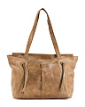 Leather Bronco Raynna Tote