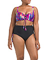 Plus Ocean Splash Two-piece Swimsuit