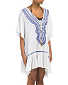 Embroidered Front Cover-up Tunic