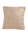 18x18 Gold Overlay Pillow