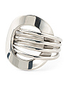 Handmade In Mexico Sterling Silver Beltline Ring