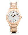 Women's Sierra Rose Gold Bracelet Watch