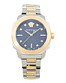 Women's Swiss Made Dylos Two Tone Bracelet Watch