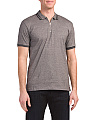 Short Sleeve Contrast Polo