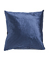20x20 Solid Velvet Pillow
