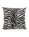 Made In India 18x18 Animal Print Pillow
