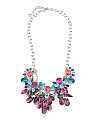 Crystal Cardinal Statement Necklace
