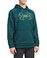 Graphic Front Fleece Lined Hoodie