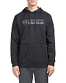 Fleece Lined Stacked Hoodie