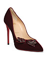 Made In Italy Velvet Pumps