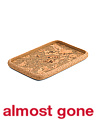 Made In Portugal 16in Rectangle Cork Tray