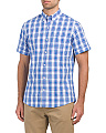 Multi Plaid Saltwater Poplin Shirt