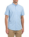 Plaid Saltwater Poplin Shirt