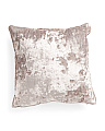 20x20 Textured Velvet Pillow