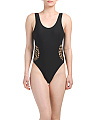Macrame One-piece Swimsuit
