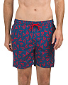 Lobster Print Swim Shorts