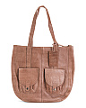 Varick Broome Leather Tote